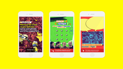 L'ÉQUIPE SNAPCHAT DISCOVER